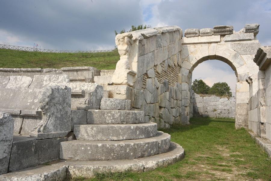 Pietrabbondante -complesso archeologico del Santuario Italico